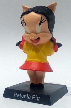 """Petunia Pig, numero 23 della """"Looney Tunes Collection"""" (2012) #Miniatures #Figures #LooneyTunes"""