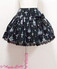 Lolibrary | Angelic Pretty - Skirt - Holy Lantern Low-Waisted Skirt (2015)