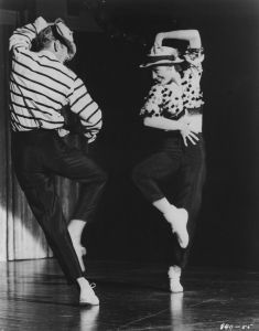 "Bob Fosse and Gwen Verdon in ""Who'€™s Got the Pain""€ from ""Damn Yankees!"" Photo Courtesy of Dance Magazine archives:"