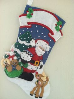 Bucilla Christmas Stocking