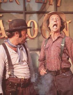 """Remember when...""""The Apple Dumpling Gang"""" with Don Knotts (right) and Tim Conway (left)"""
