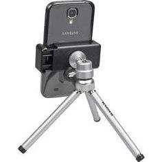 Kaiser Fototechniek smartphone-statief 6016  Multilevel-tafelstatief voor smartphones met een breedte van 55 tot 90 mm. Geschikt voor staande en liggende bevestiging foto's/video's opnemen en bekijken videotelefonie ... Klik verder voor meer info.  EUR 19.99  Meer informatie