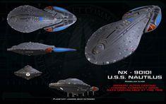 Star Trek U.S.S Vengeance colección Eaglemoss de revista OVP into Darkness