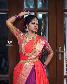 Team India Wedding, South India, Wedding Photos, Sari, Bridal, Model, Instagram, Fashion, Marriage Pictures