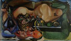 Emilio Di Cavalcanti ( peintre Brésilien ) 1897 1976