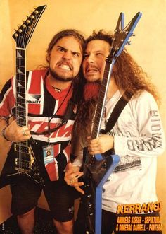 Andreas and Dime, the good ol' metal days