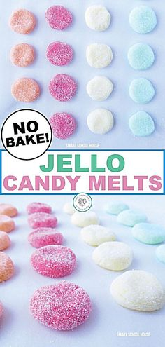 Delicious jello candy melts are a perfect snack for you to make with your kids. This - Delicious jello candy melts are a perfect snack for you to make with your kids. This delicious, no - Jello Flavors, Jello Recipes, Fun Easy Recipes, Easy Desserts, Jello Candy Recipe, Fun Recipes For Kids, Popular Recipes, Easy Sweets, Recipe For Candy