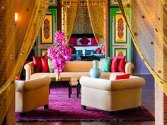 The Palace Room @ The Taj Palace Marrakech Image from: http://www.tajhotels.com/Luxury/Grand-Palaces-And-Iconic-Hotels/Taj-Palace-Marrakech/Photo-Gallery.html