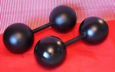 Create Barbells for your strongman! Circus party!