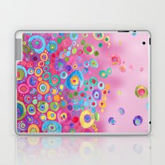 Inner Circle - Pink Laptop & iPad Skin