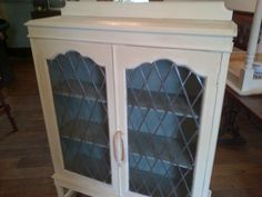 Cream and Duck Egg Cabinet