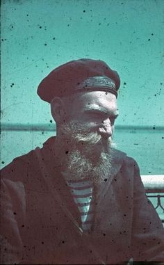 no reason this shouldnt make the rounds mpdrolet:  Bearded Sailor, Romania, 1941 Horst Grund