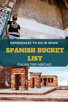 SPANISH BUCKET LIST | 40 + EXPERIENCES IN SPAIN 1