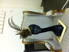 Covet Bespoke Couture  Extravagant Headpiece
