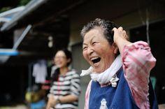 キミちゃんのいい笑顔 photo by Nobuaki Yamazaki