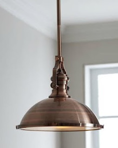 Industrial Pendant by Horchow
