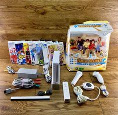 Nintendo Wii Sing Dance Bundle Family Trainer Mic Remotes 8 Games Fully Working Video Game Console, Nintendo Wii, Trainers, Singing, Dance, Games, Tennis, Dancing, Gaming