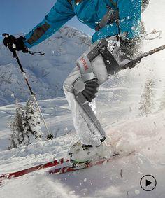 robotic exoskeleton designed for skiing helps you take on the slopes