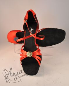 Variety of heel heights available. Sizes from EU to EU Other sizes available to order. Available in other colours. For current prices and to order visit the website. Ballroom Dance, Red Satin, Pretty Shoes, Rock N Roll, Royalty, Dance Shoes, Colours, Website, Button