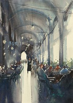 Art Of Watercolor: Keiko Tanabe. Interview.