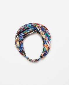 FLORAL TURBAN HAIRBAND-Headwear-ACCESSORIES-WOMAN | ZARA United States ! !