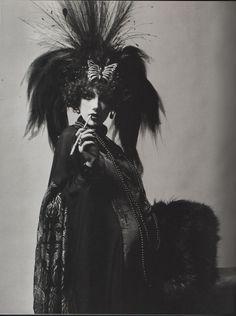 satanicgirls-gonewild:   Actress, model and socialite Marisa Berenson dressed to…