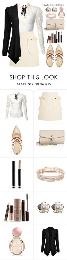 """""""Untitled #616"""" by jovana-p-com ❤ liked on Polyvore featuring Fendi, Nine West, Dolce&Gabbana, Gucci, Anne Klein, Laura Mercier and Bulgari"""