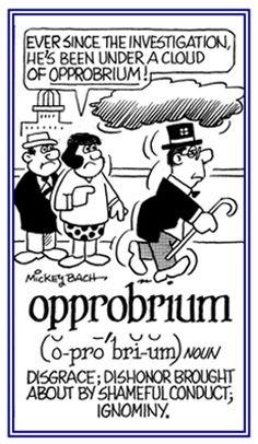 Opprobrium Definition