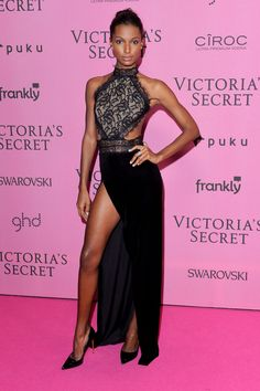 Jasmine Tookes in MT Costello at the Victoria's Secret Fashion Show After-Party