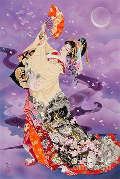 Ryuga by Haruyo Morita - Oiran / Tayuu