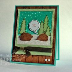 Life in the Forest DTGD14Benzi by JanTInk - Cards and Paper Crafts at Splitcoaststampers