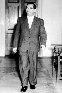 "Malta u l-politika - Dom Mintoff Mintoff's diehard supporters daubed him as ""Malta's saviour"" – a title they still use today. Malta History, Welfare State, Malta Island, Tug Boats, World War Ii, Old Photos, The Past, World War Two, Old Pictures"