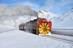 Horse Drawn Wagon, Work Train, Rail Transport, Train Pictures, Train Engines, Snow Plow, Electric Locomotive, Trains, Train Tracks