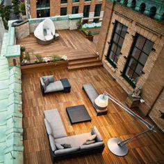 roof-top terrace!