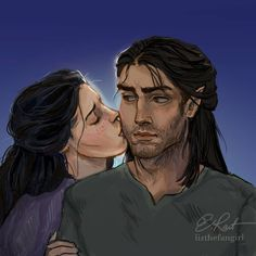 CUTE ELORCAN FANART!! I LOVE THIS SO MUCH. I HOPE WE GET A LOT OF CUTE SCENES (OR EVEN SMUTTY…)