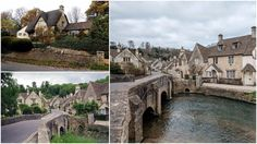 Castle Combe, we love medievalvillages which look like they've been taken out of a fairy tale! About 5 miles (8km) northwest of the town of Chippenham