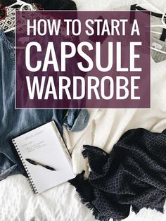 How to Start a Capsule Wardrobe - a less-intense guide for beginners, with free printable guides to help you get started!   pinchofyum.com