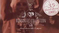 Buy Romantic Collection Hand-drawn Titles by ConceptCafe on VideoHive. Romantic Collection Hand-drawn Titles is perfect for decorating your wedding video or to create a unique greeting car.