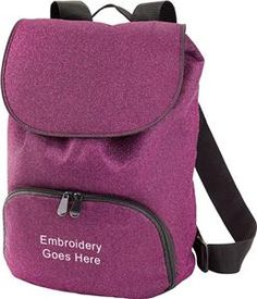 0238903d66e2 Epic sports - 19 Augusta Sportswear Glitter Backpacks
