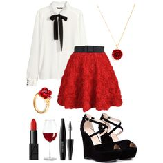 APH France inspired outfit // Hetalia // Casual Cosplay by ginger-coloured on Polyvore