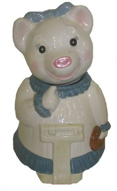 Vintage pig cookie jar