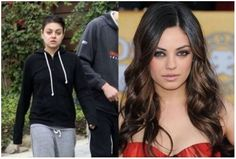 Mila Kunis Without Make Up - funny pictures - funny photos - funny images - funny pics - funny quotes - #lol #humor #funny