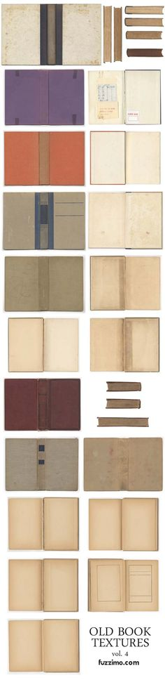 free download... book textures