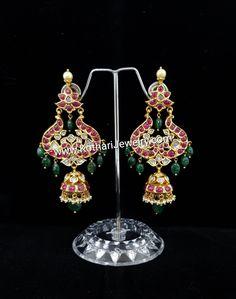 Indian Jewelry, Jewellery, Earrings, Fashion, Moda, Jewelery, Jewelry Shop, Fashion Styles, Jewlery