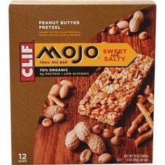 Clif® Mojo® Peanut Butter (Yellow) Pretzel, 1.6 Oz (Pack of 12)