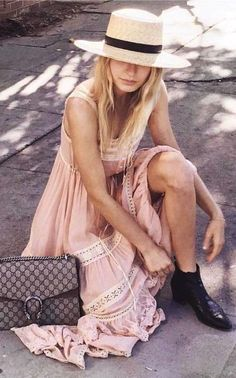 #spellandthegypsycollective #boho #outfits | Blush Boho Sun Dress