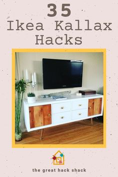 The Ikea Kallax shelves are incredibly versatile. Here are some of the best Ikea Kallax hacks that demonstrate just what you can do with it. #ikeakallaxhacks #ikeahack #kallaxhacks #ideas Ikea Kallax Shelving, Ikea Kallax Hack, Ikea Shelves, Ikea Furniture Hacks, Ikea Hacks, Home Decor Styles, Diy Home Decor, Room Decor, Best Ikea