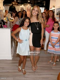 Antonia Gorga (L) and Melissa Gorga attend the Melissa Gorga's 'Real Housewives Of New Jersey' Season 7 Premiere Shopping Event at envy by Melissa Gorga Boutique on July 11, 2016 in Montclair, New Jersey.