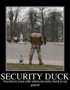 It's a quack unit.