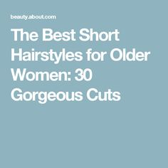 The Best Short Hairs